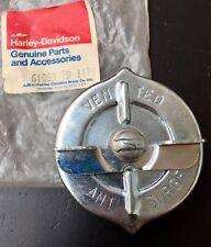 Tankdeckel Gas filler Cap Harley Davidson AMF Original 61083-79 FL Shovel Rare