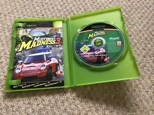 Midtown Madness 3 Xbox Original Racing Video Game Manual PAL