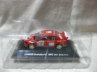 MITSUBISHI LANCER Evolution Ⅶ WRC 2001 SS.2 1:64 Scale CM's Rally Car