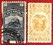 Ecuador used Revenues - Railroads / Trains
