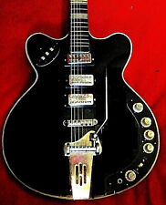 60er Höfner Verythin 4573E3 El.Jazzguitar Legende 3 PU Vibrato black dünner Body