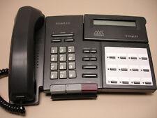 Three (3) Refurbished Vodavi Triad TR 9014 Phones, TR9014-71 Black (Charcoal)