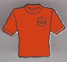 1. FC Nürnberg  Pin / Pins: Trikot Pin - Nostalgie - orange-rot