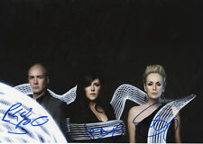 The Human League Autogramme full signed 20x30 cm Bild