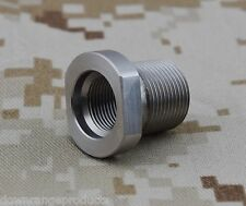 "1/2""-36 to 5/8""-24 Barrel Thread Adapter Made USA Free Ship Muzzle Acces #4078"