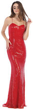 NEW SEXY SPECIAL OCCASION PROM QUEEN DRESS SEQUINS EVENING FORMAL PAGEANT GOWN