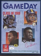 Art Shell JSA Authenticated Autographed Game Day HOF Class of 1989 Yearbook !!!
