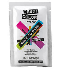 Crazy Color BACK TO BASE Remover (Direct Dye Hair Colour Remover) 45g