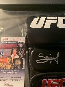 Francis Ngannou Autographed Signed UFC Glove JSA COA