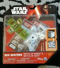 STAR WARS 2015 - BOX BUSTERS BATTLE OF NABOO & HOTH PLAYSET - THE FORCE AWAKENS