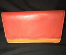 Mywalit Bifold Multi Color Wallet Red Orange Green Yellow