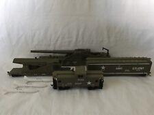 Model Power HO Scale Set of 4 U.S. Army Military Train Cars