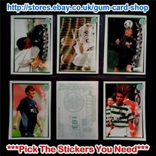 PANINI - HERE COME THE BHOYS CELTIC 2000-01 (100 - 177) *SELECT STICKERS*