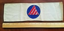 Original WW2 US Civil Defense Air Raid Warden Arm Band