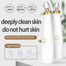Electric Blackhead Remover Pore Vacuum Suction Dermabrasion Face Cleaneol