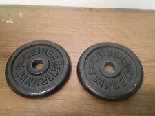 2-5lb Weider Barbell Weight Plates