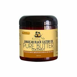 Sunny Isle Jamaican Black Castor Oil Pure Butter Coconut 4 Oz