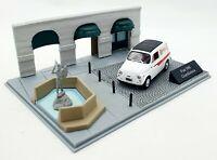 EBOND Fiat 500 Giardiniera - Diorama - Die cast - Scala 1:43 - 0065.
