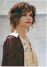 CHARLOTTE RILEY - Signed 12x8 Photograph - TV - PEAKY BLINDERS