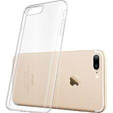 iPhone 7 Plus Clear Case Slim Bumper Ultra Thin TPU Rubber Gel