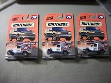 LOT OF 3 MATCHBOX #76 MODEL A FORD SPECIAL EDITION HERSHEY TOY SHOW