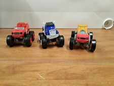 Blaze And The Monster Machines Die Cast Lot of 3