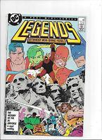 Legends #3/DC Comic Book/1st Modern Suicide Squad/Deadshot/NM+