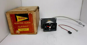 NOS 1960 60 Plymouth Fury Clock.. Beautiful... Serviced Works Perfectly