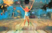 PRINT 5th Fifth Element Leeloo Sci-Fi Jump Movie Poster Wall Pop Art Painting
