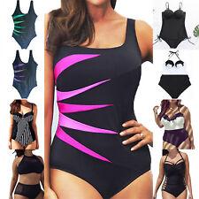Women Plus Size Push Up Monokini Bikini Beach Swimsuit One Piece Swimwear Summer