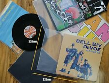"10 12"" inch Vinyl Record Album 3 LP 450g Gauge Plastic Polythene Outer Sleeves"