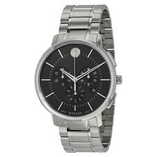 Movado Thin Classic Stainless Steel Mens Watch 0606886