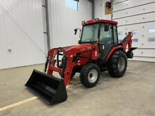 2019 Tym T354H 34hp Hydrostatic Tractor w/ Loader / Cab / Backhoe