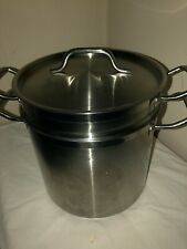 Winco Ssdb-12S, 12-Quart Stainless Steel Stock/Pasta/Lobster Pot.