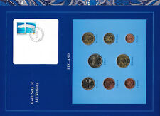 Coin Sets of All Nations Finland EURO 1999-2002 UNC 2 Euro 2001 1 Euro 1999
