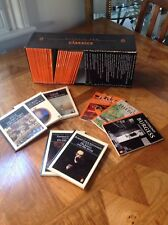 Penguin classic box set of orange and black 60's books.