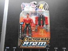 VINTAGE Action Man ATOM Figure Mega Rare Long Red Arms Paine