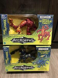 Transformers 1998 Animorphs Ax / Scorpion & Visser Three / Inferno Creature Mint
