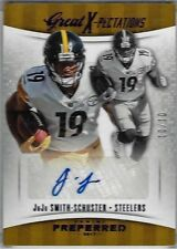 2017 Panini Preferred Football Purple #346 Juju Smith-Schuster SER 10/10, Look!