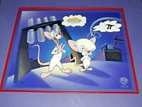 "ANIMANIACS PINKY AND THE BRAIN ""PI(E)"" LIMITED EDITION CEL ARTIST PROOF 2/50"