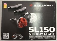 Reelight SL150 Steady Battery Free Bicycle Lights Front & Rear Magnet Set