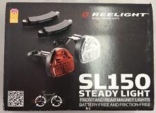 Reelight SL150 Steady Batterie gratuit Vélo Feux avant et arrière Set d'aimant