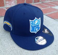 New Era Los Angeles Chargers Snapback Hat 9FIFTY NFL Navy Polyester Rivers