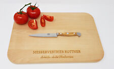 Güde Alpha Olive Tomatenmesser Küchenmesser Solingen Handarbeit X464/13