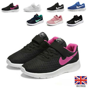 Girls Boys Running Trainers Lightweight School Sports Shoes Kids Sneakers Size