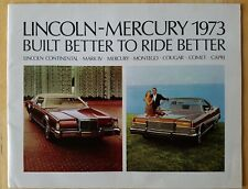 1973 Lincoln-Mercury Automobile Ford Dealership Brochure Cougar, Comet, Capri