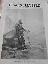 1898  Un Alpin ( 1896 ) par Edouard Detaille