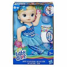 Baby Alive Shimmer 'n Splash Mermaid (Blonde Hair) *BRAND NEW*