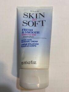 Skin So Soft Fresh & Smooth Sensitive Skin Body Hair Removal Cream 4.2 fl oz New