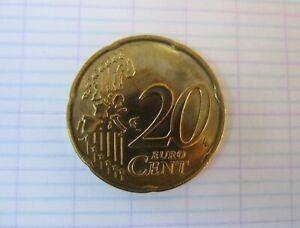 20 cent 2000 BU @ Belgique @ Neuf extrait du coffret